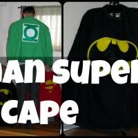 Batman Super Hero Cape