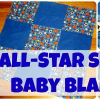 All-Star Sports Baby Blanket