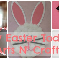 Lily & Frog Friday 5: 5 Easy Easter Toddler Arts N' Crafts