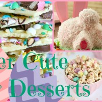 Lily & Frog Friday 5: 5 Super Cute Easter Desserts
