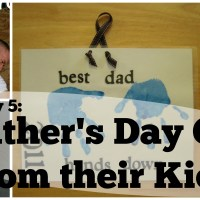 Lily & Frog Friday 5: 5 Easy Father's Day Toddler Arts N's Crafts