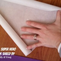 How To: D.I.Y. Super Hero Cape Shield