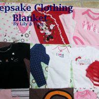 Penny's Keepsake Clothing Blanket