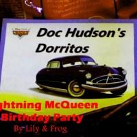 Lightning MCQueen Birthday Party Decorations & Printables