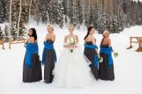 Winter Wonderland Blue Bridesmaid Dresses | www.imgkid.com ...
