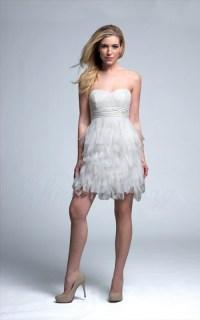 Long Reception Dresses For Brides - High Cut Wedding Dresses