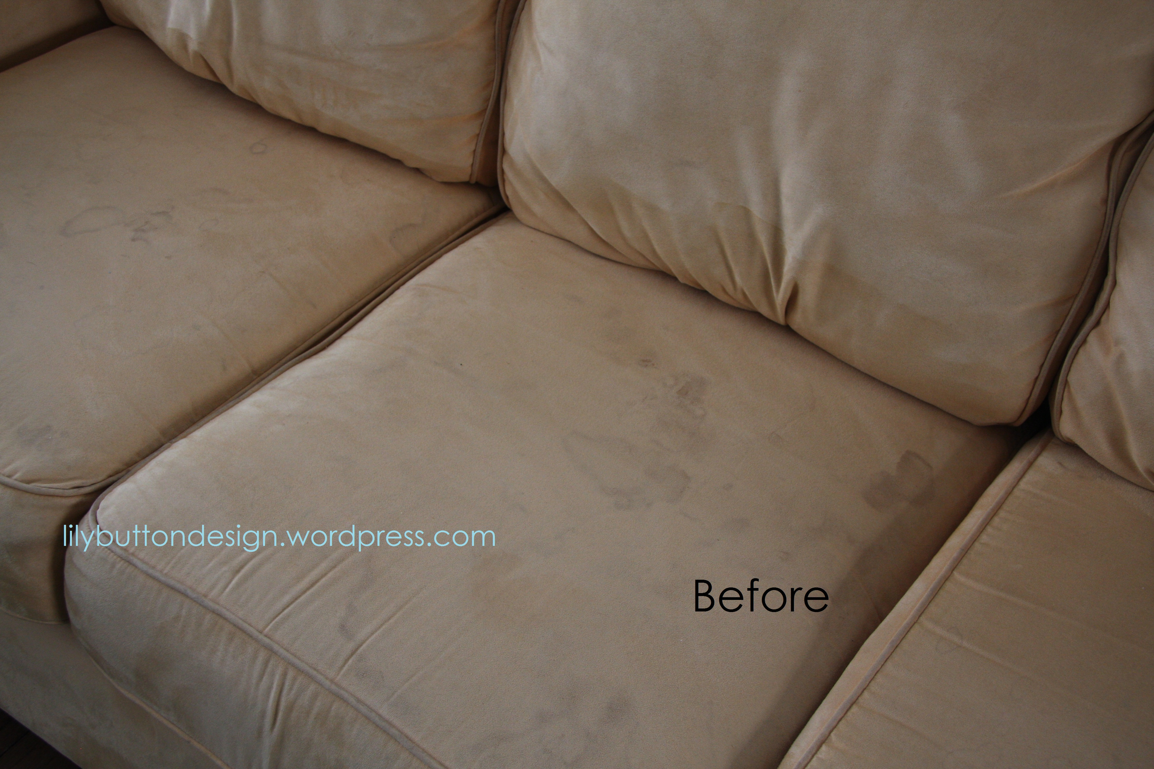 how to clean stains on fabric sofa black and white modern sectional cleaning a microfiber couch