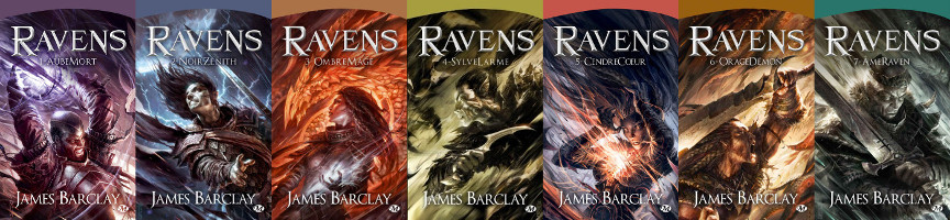 Les Ravens de James Barclay