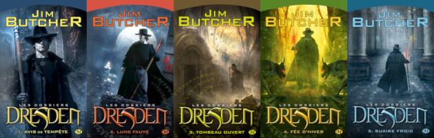 Les Dossiers Dresden (les 5 premiers tomes)