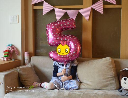 小妮5歲生日
