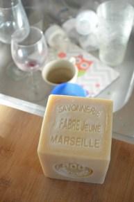 savon de Marseille marius Fabre pour la vaisselle