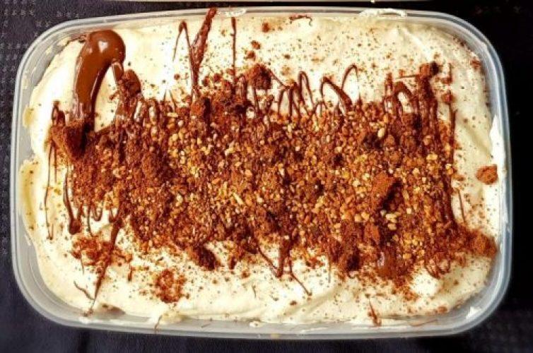 glace vanille chocolat et cookies sans sorbetière