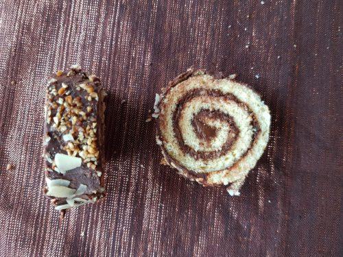Recette roulé chocolat glaçage chocolat lilygourmandises blog culinaire