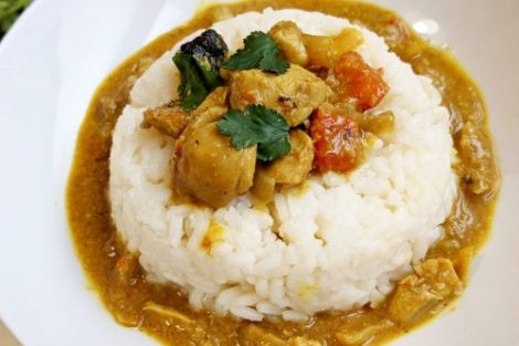 Poulet curry coco ninja foodi cookeo marmite cocotte