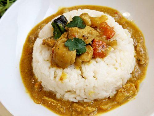 Poulet curry coco ninja foodi cookeo marmite cocotte