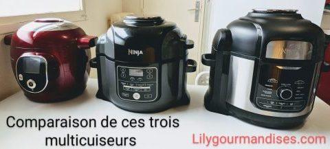 comparatif ninja foodi op300 ninja foodi max op 500 et cookeo comparatif multicuiseur