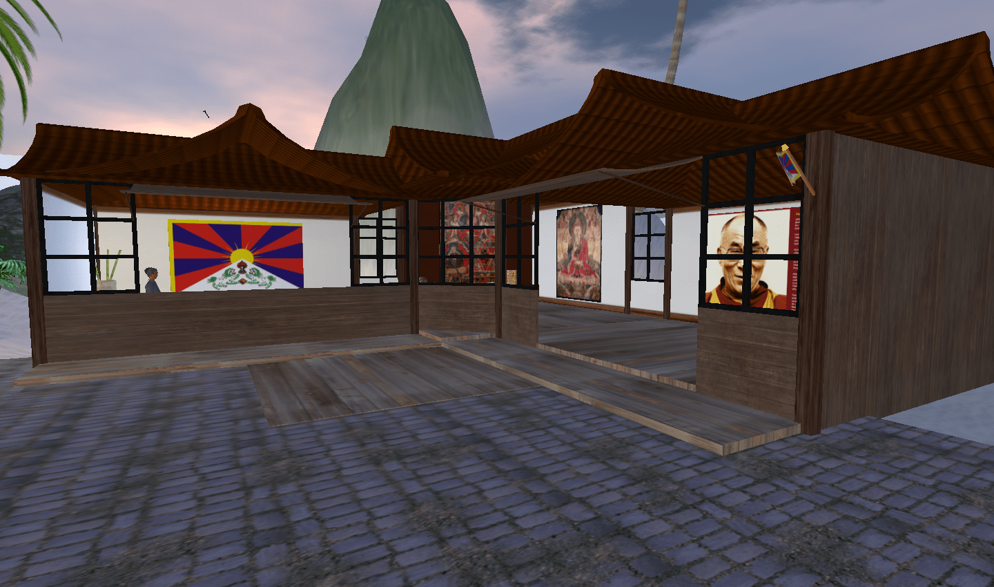 Potala Palance project in Second Life