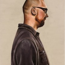 Christian, 40 x 50cm, oil on canvas, 2012