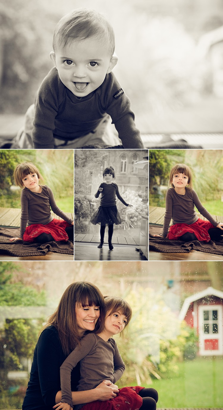 Gorgeous family of 4 photoshoot on a rainy day  London Family Photographer  Lily Sawyer