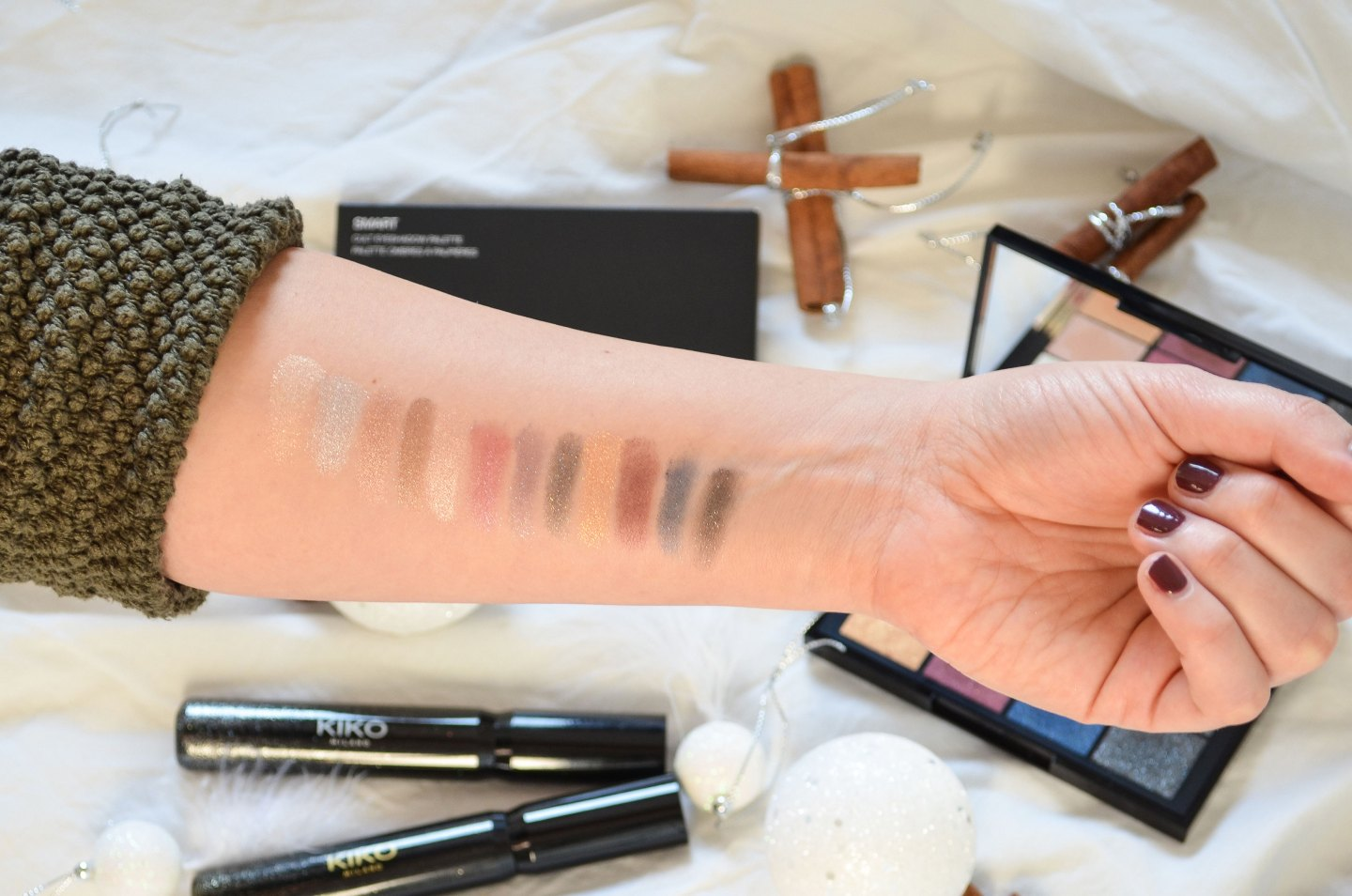 Kiko Smart Cult Eyeshadow Palette Review
