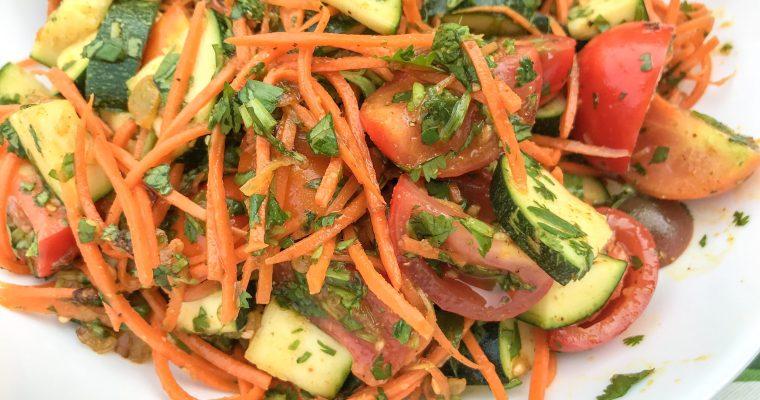 Spicy Korean Salad