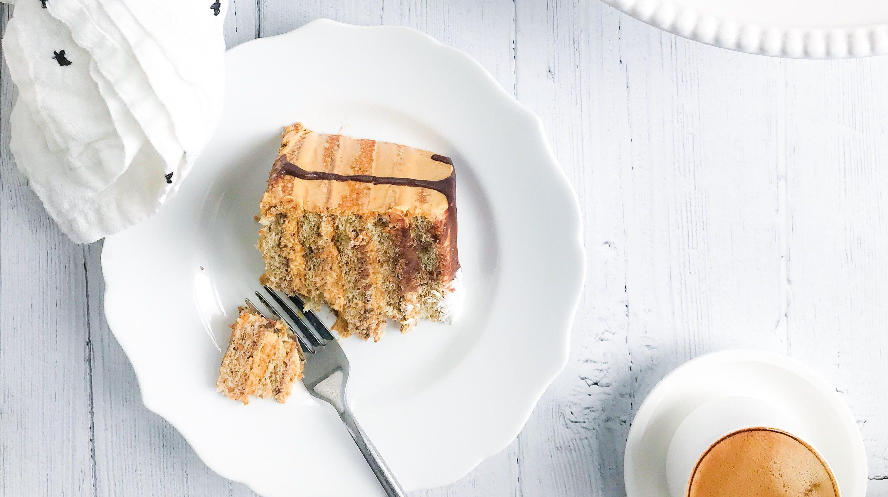 Nutty Dulce De Leche Cake