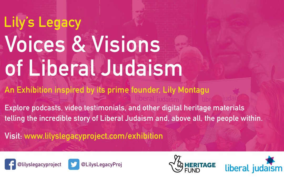 Lily's Legacy Exhibition to launch at Liberal Judaism's Biennial Weekend