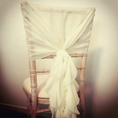 Chair Covers Rose Gold Aeron Cylinder Replacement And Bows Hire Scotland Lily Special Events