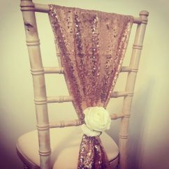 Chair Covers Rose Gold Crate And Barrel Desk Bows Hire Scotland Lily Special Events