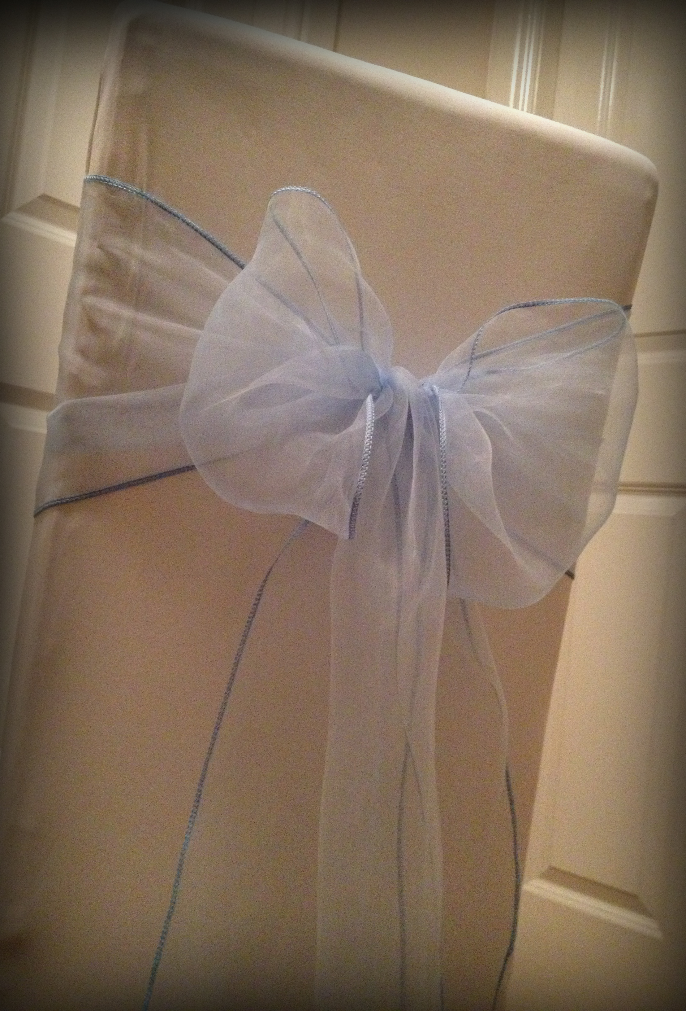 hire chair covers glasgow over the beach towels baby blue organza bow lily special
