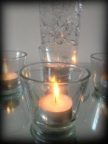 Wedding tealight holders, wedding, Glasgow - Lily Special Events