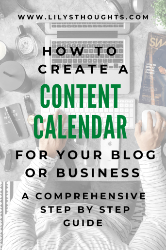 Step By Step Guide On How To Create A Content Calendar