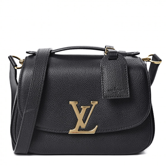 Fashionphile Fabulous Finds - September - Louis Vuitton Grained Calfskin Vivienne NM Black