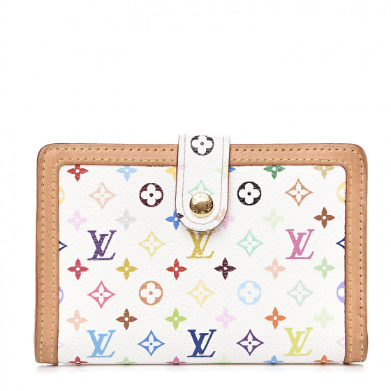 Fashionphile Fabulous Finds - September - Louis Vuitton Monogram Multicolor French Purse Wallet