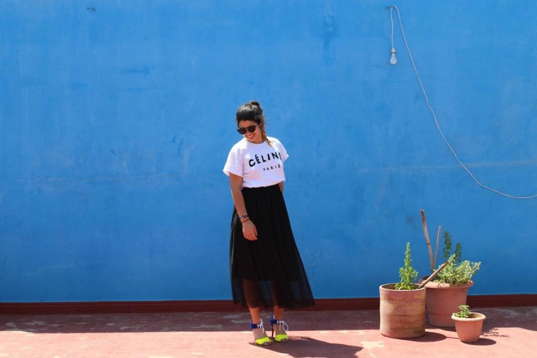 lilytoutsourire comment porter la jupe longue 3