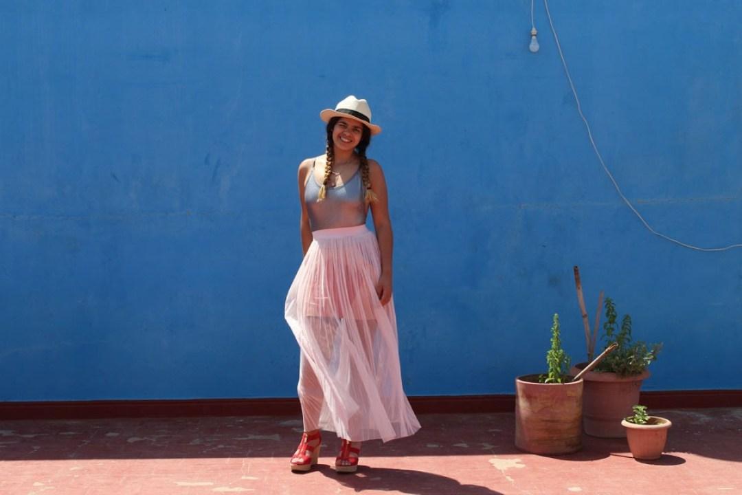 lilytoutsourire comment porter la jupe longue 5