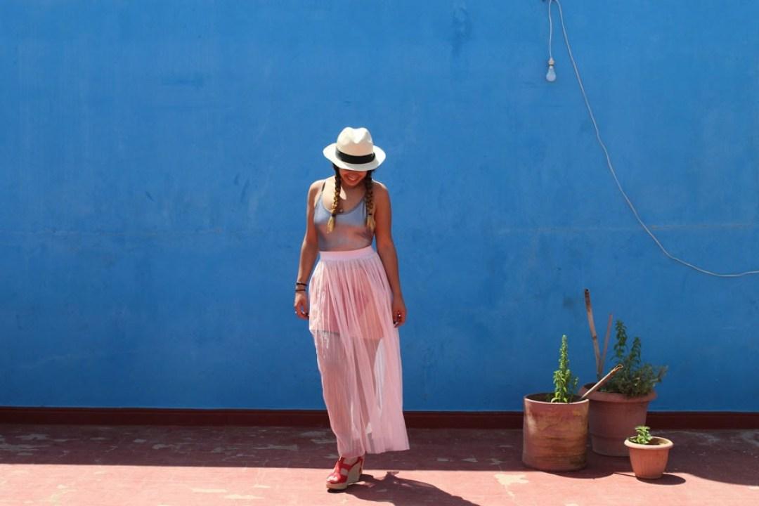 lilytoutsourire comment porter la jupe longue