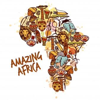 afrique du sud illustration