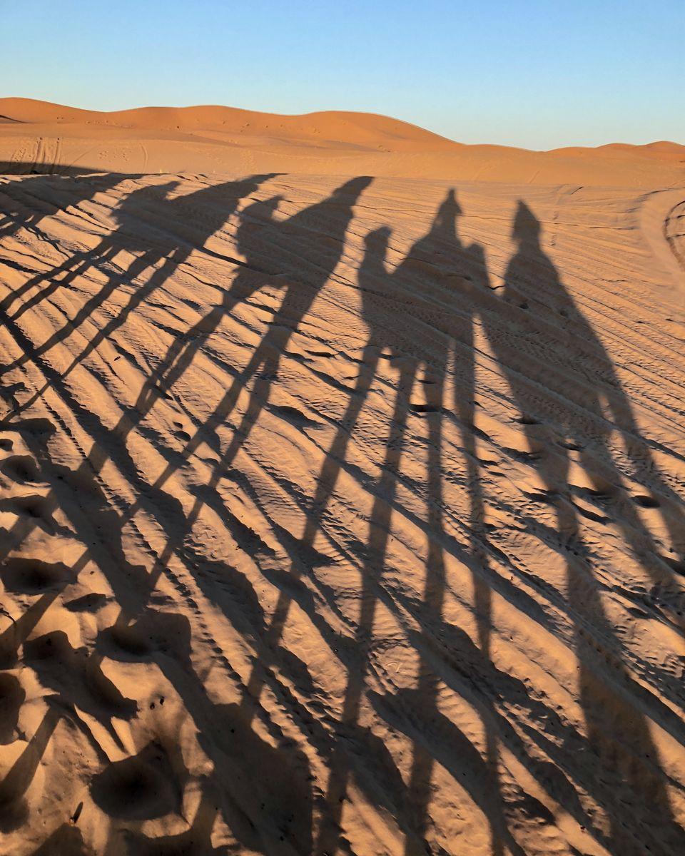 le Maroc en van - Merzouga