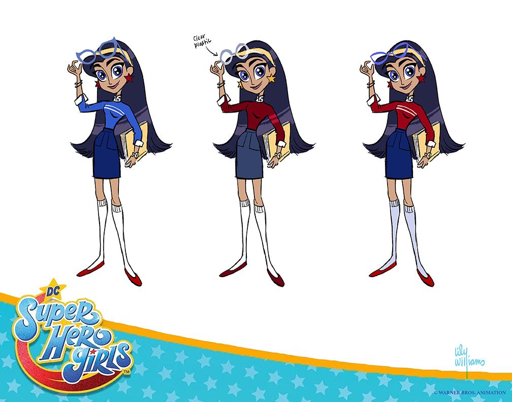 Dc Super Hero Girls Lily Williams