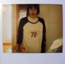 Foivos Eating At The Bathroom 2011