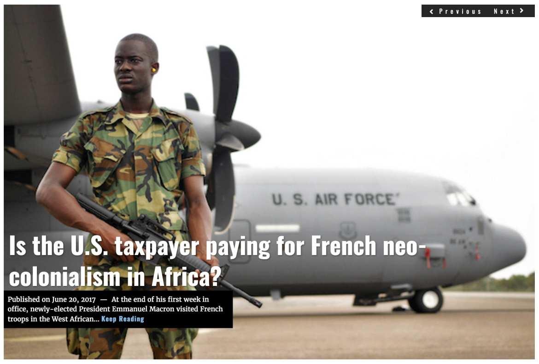 Image Lima Charlie News Headline Sahel