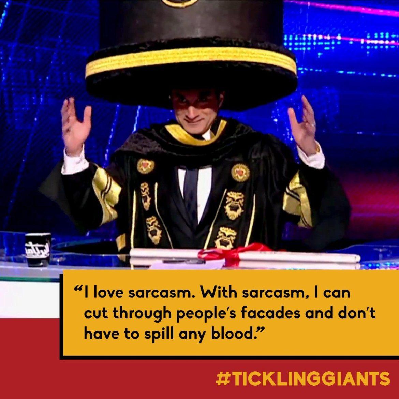 Image Sarcasm Tickling Giants