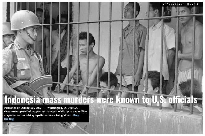 Image Lima Charlie News Headline Indonesia Genocide OCT25