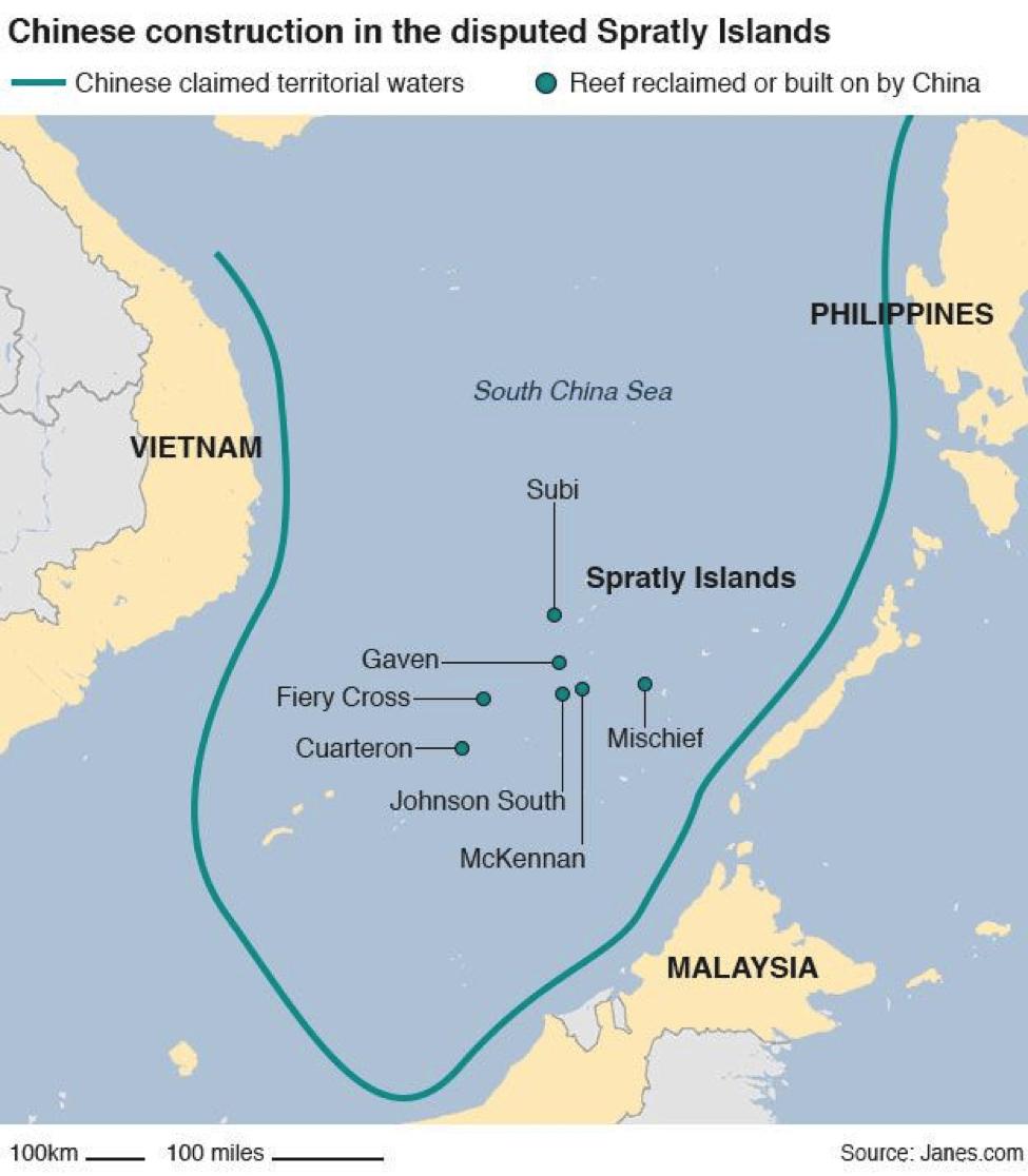 Image South China Sea China construction [Janes]