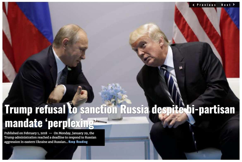 Image Lima Charlie News Headline Trump Russia sanctions FEB 1 2018