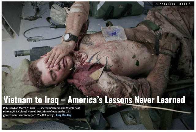 Image Lima Charlie News Headline Vietnam to Iraq MAR 8 2019