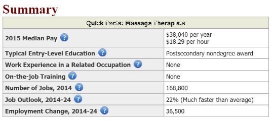 BLS Massage Therapist Table