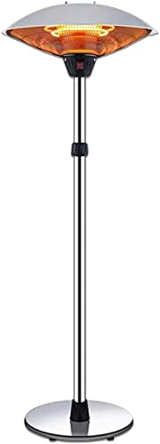 Patio Heaters: SOARRUCY Patio Heaters for Outdoor - Stainless Steel Outdoor Heater 3 Levels Adjustable Power Waterproof  Dump Power Off Electric Outdoor Heaters for Patio (SOARRUCY Patio Heaters), (SOARRUCY).