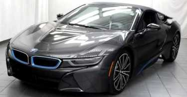 La superbe voiture BMW i8 de Wally Ballago Seck
